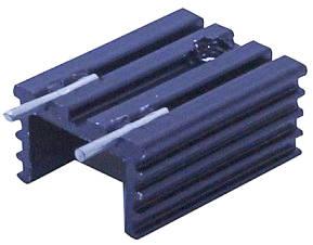 Радиаторы для мощных транзисторов 20x15x10 мм