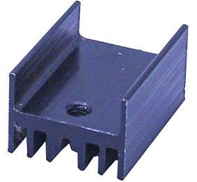 Радиаторы для мощных транзисторов 21x15x11 мм