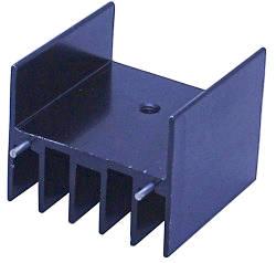 Радиаторы для мощных транзисторов 30x30x25 мм