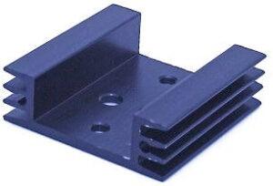 Радиаторы для мощных транзисторов 45x45x14 мм TO-3