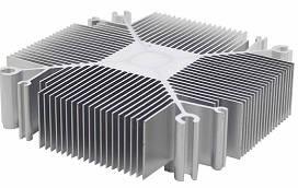 Радиатор для светодиодов с возможностью крепления вентилятора