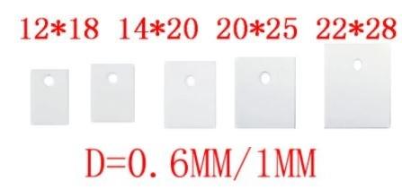 керамические прокладки для радиаторов для транзисторов