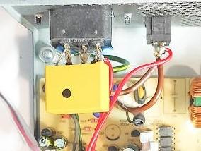 припаиваем провода для питания умного выключателя