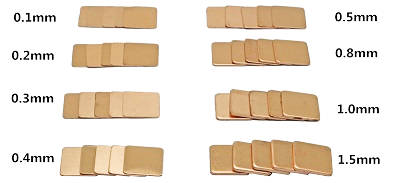 Радиаторы для мощных транзисторов. медные прокладки