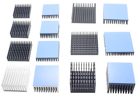 различные типы малых радиаторов