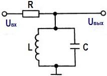 Резонансная LC схема: широкополосный фильтр.
