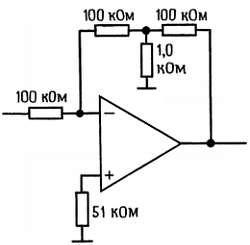 большое значение сопротивления обратной связи создается за счет резисторов с небольшими сопротивлениями.