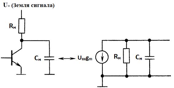 Высокочастотные быстродействующие приборы. действия паразитных емкостей нагрузки и соединительных проводов.