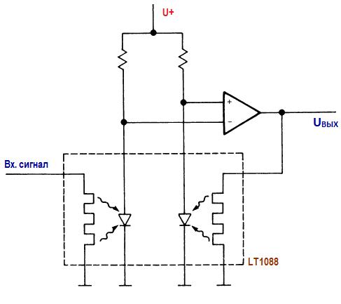 Точный среднеквадратичный детектор LT1080. Элементы высокочастотных схем