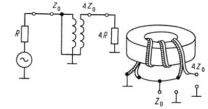 Трансформаторы на линиях передач. в-трансформатор